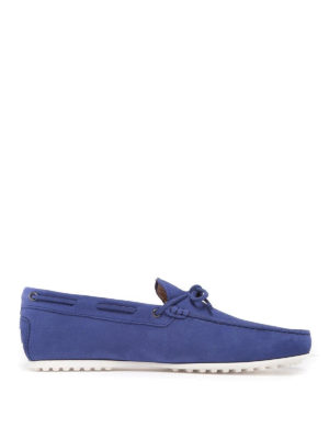 TOD'S: Mocassini e slippers - Mocassini con cuciture a vista