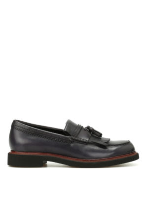 Tod'S: Loafers & Slippers - Glossy leather loafers