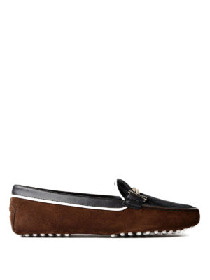 Tod'S: Loafers & Slippers - Gommini leather and suede loafers