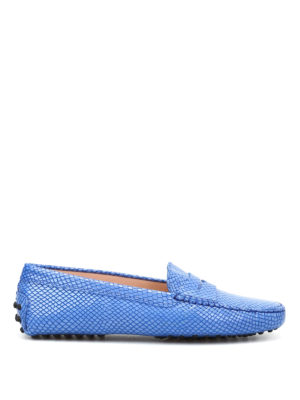 Tod'S: Loafers & Slippers - Gommini leather driving shoes