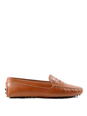 Tod'S: Loafers & Slippers - Gommini leather loafers