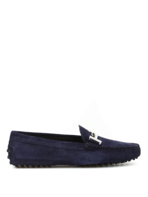 Tod'S: Loafers & Slippers - Gommini Maxi double T loafers