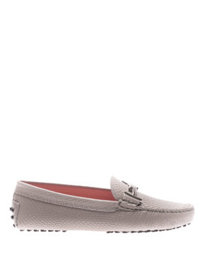 Tod'S: Loafers & Slippers - Gommino double T leather loafers