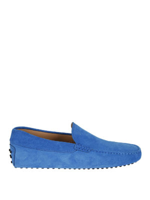 Tod'S: Loafers & Slippers - Gommino suede classic loafers
