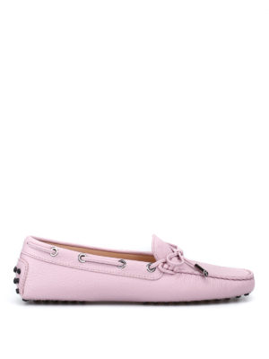 Tod'S: Loafers & Slippers - Grained leather loafers