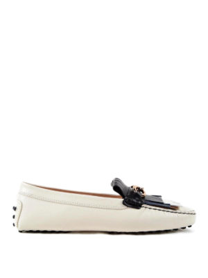 Tod'S: Loafers & Slippers - Hammered leather Heaven loafers