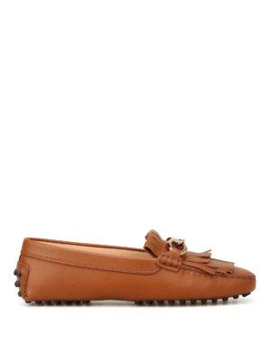 TOD'S: Mocassini e slippers - Mocassini Heaven con frange