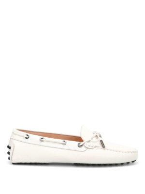 Tod'S: Loafers & Slippers - Heaven Laccetto  saffiano loafers