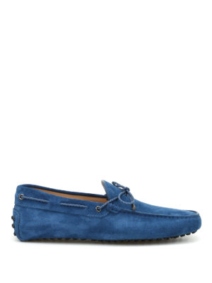 Tod'S: Loafers & Slippers - Laccetto Club suede loafers