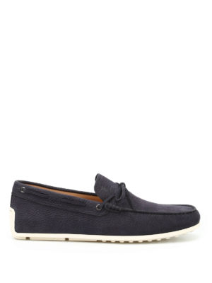 Tod'S: Loafers & Slippers - Laccetto leather loafers