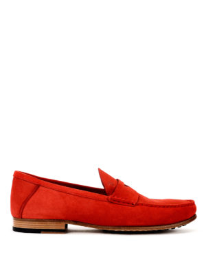 Tod'S: Loafers & Slippers - Leather and gommini sole loafers