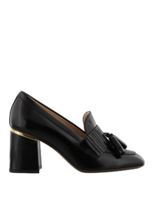 TOD'S: Mocassini e slippers - Pumps modello mocassini in pelle nera