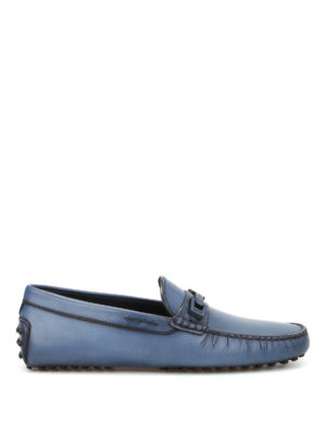 Tod'S: Loafers & Slippers - Macro Clamp Country leather loafers