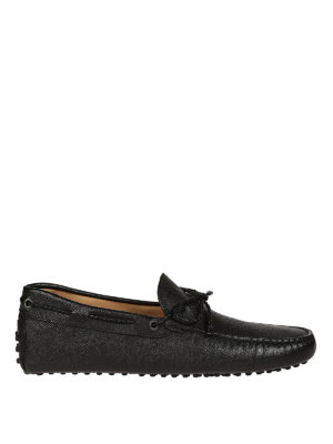 Tod'S: Loafers & Slippers - New Gommini leather driver loafers