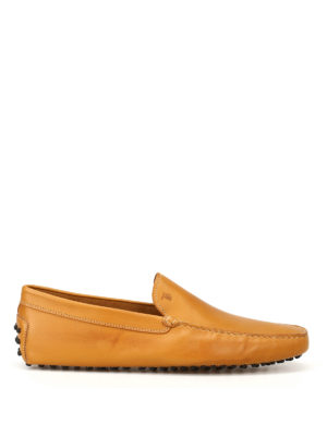 Tod'S: Loafers & Slippers - New Gommini smooth leather loafers