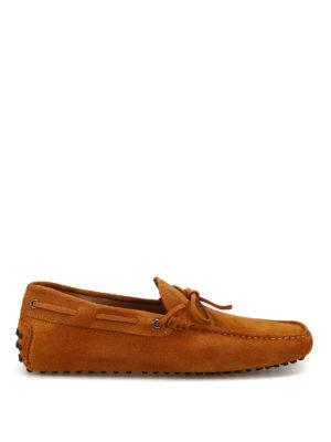 TOD S  Mocassini e slippers - Mocassini in camoscio con laccetti ea8a005e10d