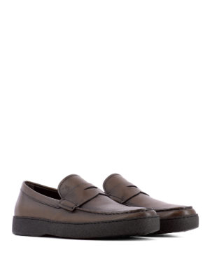 Tod'S: Loafers & Slippers online - 22A vintage leather loafers