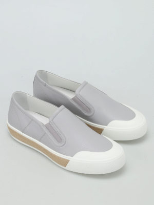 Tod'S: Loafers & Slippers online - 26A leather slip-ons