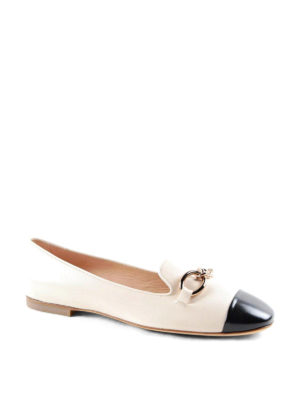 Tod'S: Loafers & Slippers online - Chain detail leather slippers