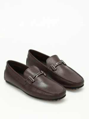 Tod'S: Loafers & Slippers online - City Gommino double T loafers