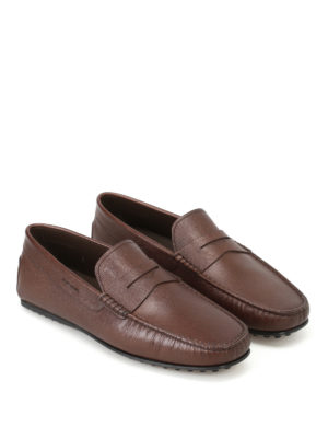 Tod'S: Loafers & Slippers online - City Gommino leather loafers