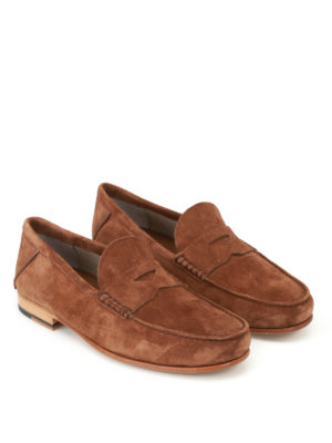 Tod'S: Loafers & Slippers online - Classic suede loafers