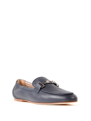 Tod'S: Loafers & Slippers online - Double T galassia leather loafers