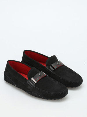 Tod'S: Loafers & Slippers online - Ferrari suede loafers