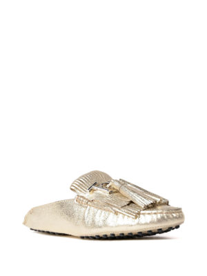 Tod'S: Loafers & Slippers online - Fringed loafers with tassels