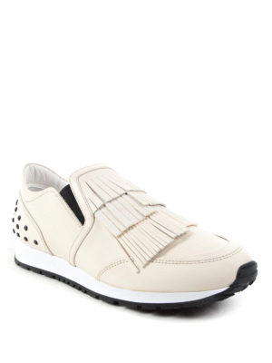 Tod'S: Loafers & Slippers online - Fringed slip-ons