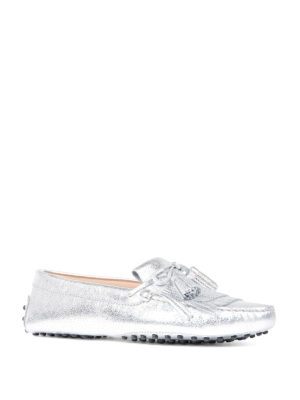 Tod'S: Loafers & Slippers online - Gommini fringed loafers