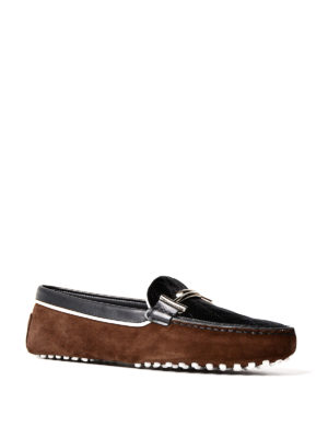 Tod'S: Loafers & Slippers online - Gommini leather and suede loafers