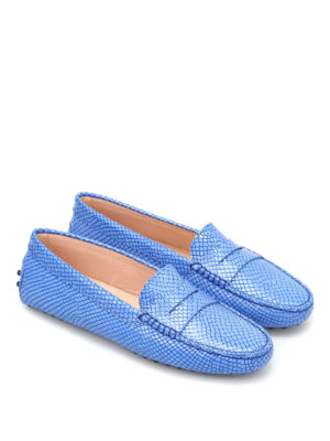 Tod'S: Loafers & Slippers online - Gommini leather driving shoes