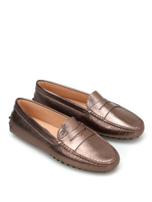 Tod'S: Loafers & Slippers online - Gommini leather loafers