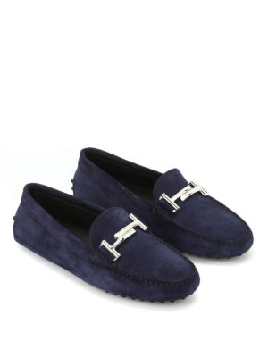 Tod'S: Loafers & Slippers online - Gommini Maxi double T loafers