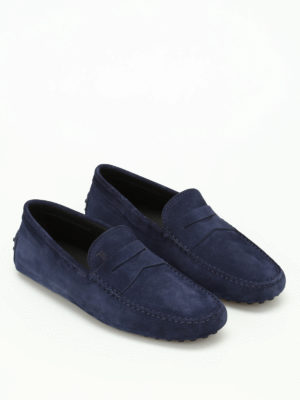 Tod'S: Loafers & Slippers online - Gommini suede loafers