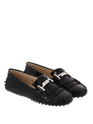 Tod'S: Loafers & Slippers online - Gommino Double T fringed loafers