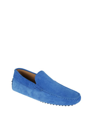 Tod'S: Loafers & Slippers online - Gommino suede classic loafers