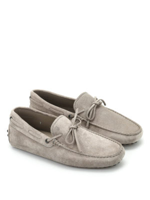 Tod'S: Loafers & Slippers online - Gommino suede loafers