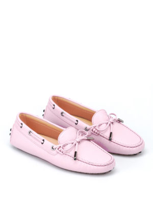 Tod'S: Loafers & Slippers online - Grained leather loafers