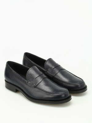 Tod'S: Loafers & Slippers online - Grainy leather classic loafers