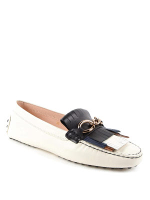Tod'S: Loafers & Slippers online - Hammered leather Heaven loafers