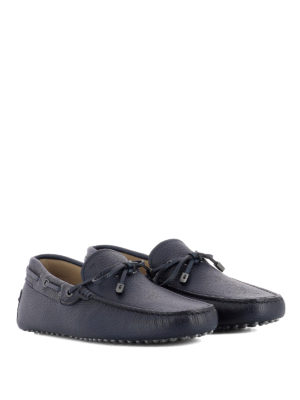 Tod'S: Loafers & Slippers online - Hammered leather loafers