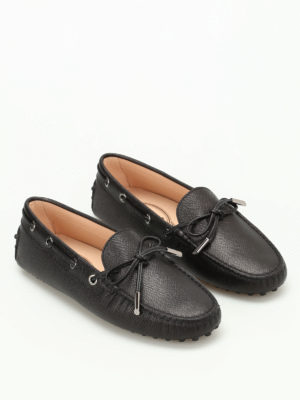 Tod'S: Loafers & Slippers online - Heaven grainy leather loafers
