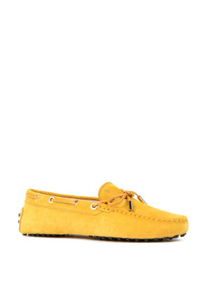 Tod'S: Loafers & Slippers online - Heaven lace detail nubuck loafers