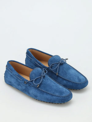 Tod'S: Loafers & Slippers online - Laccetto Club suede loafers