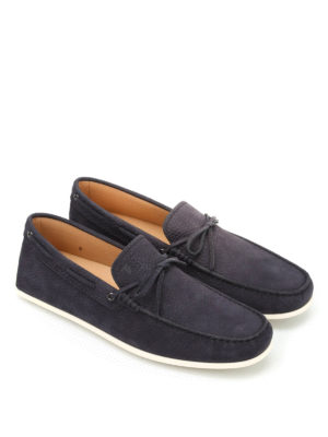 Tod'S: Loafers & Slippers online - Laccetto leather loafers