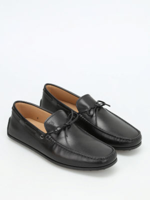 Tod'S: Loafers & Slippers online - Lace detail leather loafers