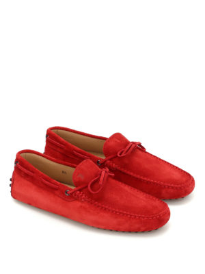 Tod'S: Loafers & Slippers online - Lace detail suede loafers