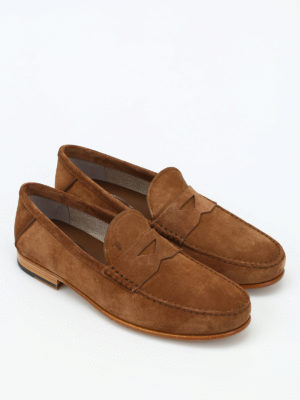 Tod'S: Loafers & Slippers online - Leather and gommini sole loafers